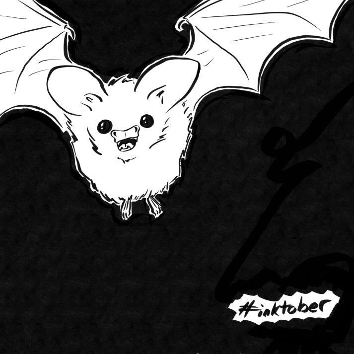 A cute bat!